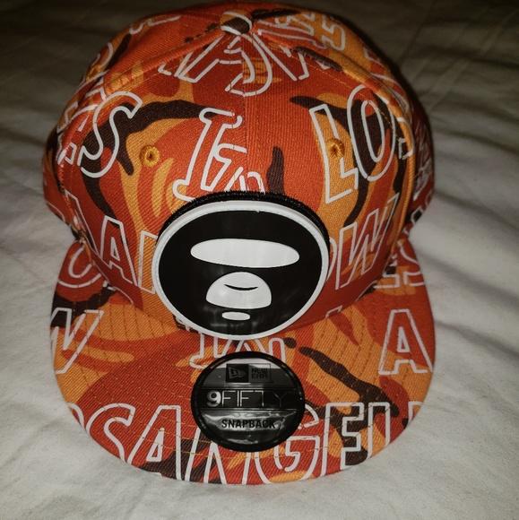 Aape by Bape LA exclusive snap back hat cap rare e0433a35b4d8
